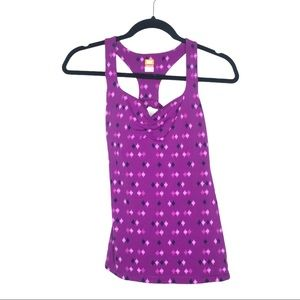 Lucy Purple Workout Tank Top